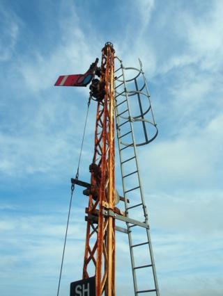 Semaphore railway signal