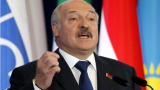 Олександр Лукашенко, липень 2017