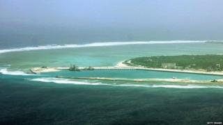 China is one of a number of countries who lay claim to parts of the South China Sea