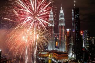 Las Torres Petronas, en Kuala Lumpur.
