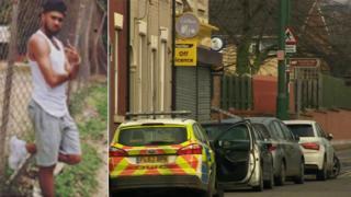Reuben Morris-Laing and crime scene
