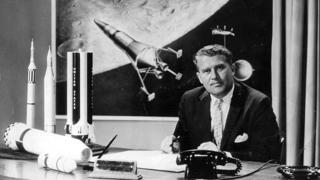Вернер фон Браун успешно работал в Пенемюнде на нацистов, а затем еще более успешно - в НАСА, на американцев