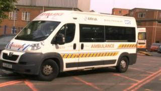 Arriva ambulance