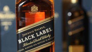 Johnnie Walker Black Label bottle