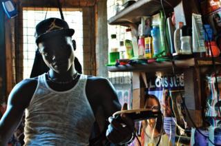 Arthur in his shop