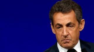 Nicolas Sarkozy in February 2016
