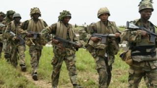 Jeshi linafanya oparesheni maalumu sehemu hiyo ambayo kundi la Boko Haram hufanya mashambulizi mara kwa mara