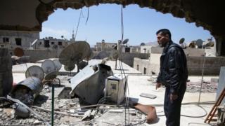 सीरिया में हमला