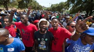 Le leader étudiant de l'université du KwaZulu Natal à Durban, avait été arrêté et emprisonné en septembre dernier.