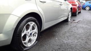 Dundee car vandalism