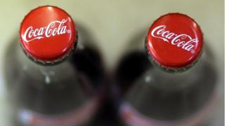Coca Cola cam şişelerinin kapakları