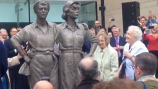Women of Steel sculpture