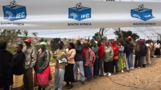 Raia wa Afrika Kusini wapiga kura