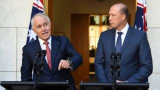 Prime Minister Malcolm Turnbull and Immigration Minister Petter Dutton announce the changes