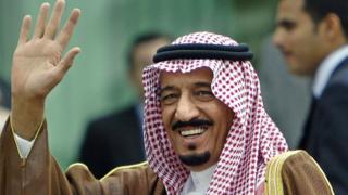 サウジアラビアのサルマン国王