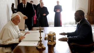 President Joseph succeed im papa Lauren Kabila wey die for office.