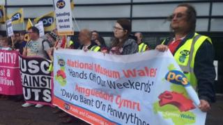 National Museum Wales strike action