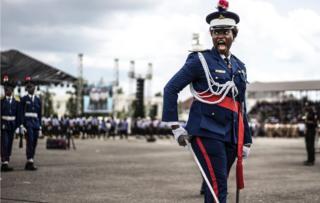 Policía nigeriana