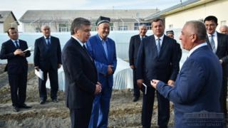 Президент Шавкат Мирзиёевнинг Самарқандга ташрифи