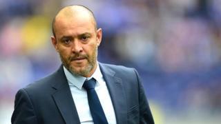 """Nuno Espirito Santo, âgé de 43 ans et ancien gardien de but du club, avait débarqué chez les """"Dragons"""" en juin 2016"""