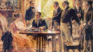 Pintura de Georgina de Albuquerque (1922)