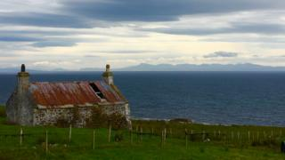 View of Skye from Melvaig