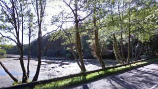 Captain's Pond, Norwich Road, near North Walsham