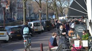 Amsterdam sokakları