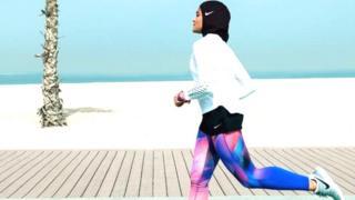 Cette nouvelle ligne de hijab sera mise en vente l'année prochaine.
