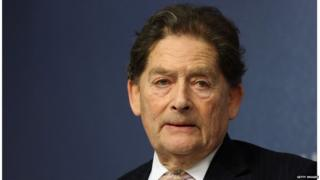 Former Tory chancellor Lord Lawson