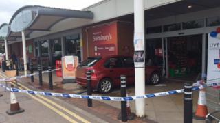 Sainsbury's Filton accident