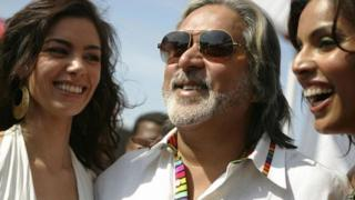 Vijay Mallya and some models