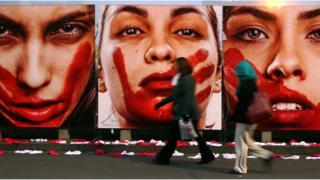 Protesto contra cultura do estupro