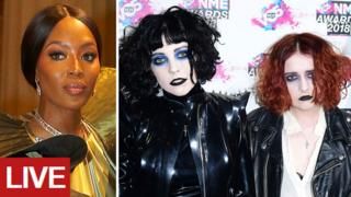 Naomi Campbell and Pale Waves
