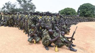 Nigeria military dey struggle to defeat di Boko Haram