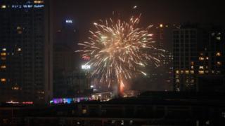 北京烟花(27/1/2017)