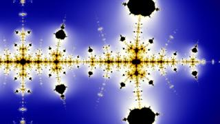 Imagen fractal de la conjetura de Collatz