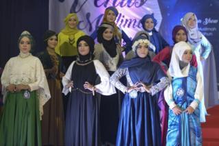 fashion show di banda aceh
