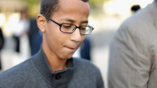 Ahmed Mohamed was arrested after bringing a homemade time to school