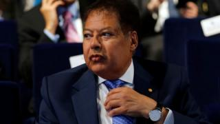 US-Egyptian Nobel prize-winning scientist Ahmed Zewail attends the Egypt Economic Development Conference in Sharm el-Sheikh on 14 March 2015.