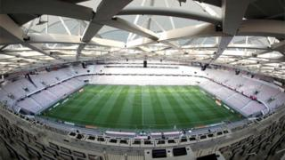 The Allianz Riviera stadium in Nice where the Northern Ireland v Poland game will take place at the Euro 2016 finals