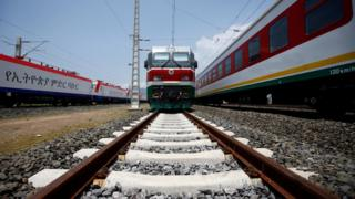 new Addis Ababa to Djibouti railway system