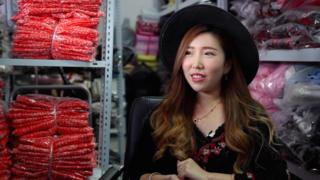Ling Ling, a 29-year-old social media celebrity from Shanghai