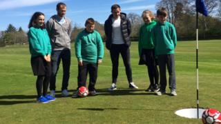 Footgolf launched