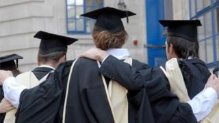 حفل تخرج لطلاب في إحدى الجامعات البريطانية