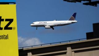 United Airlines uçağı