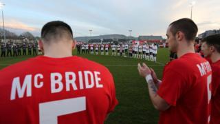 McBride tributes