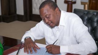 Rais Uhuru Kenyatta