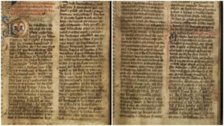 Pages from the Black Book of Basingwerk