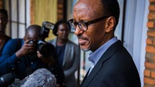 Abashigikiye Bwana Kagame bavuga kw'igihugu kitigeze gihungabana ku burongozi bwiwe